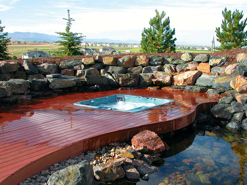 planning for hot tub in Edmonton, AB