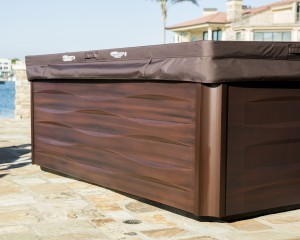Brown Hot Tub
